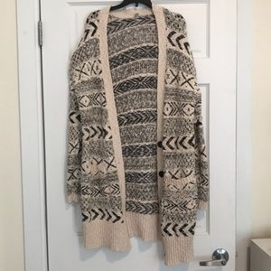 Long Urban Outfitters Cardigan